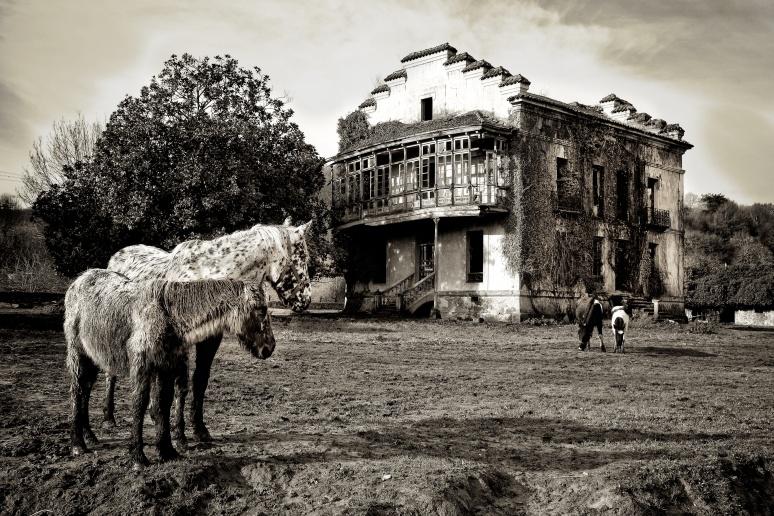 Old House, once a prison, near Arriondas, Spain